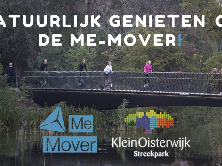 Verken nu ook het prachtige Oisterwijk en omgeving op de Me-Mover!