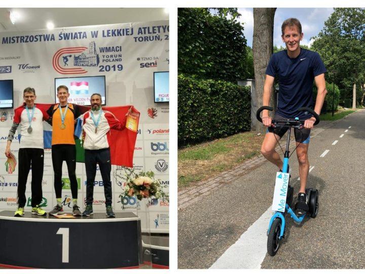 Wereldkampioen 10 kilometer hardlopen master 50+ Peter van der Velden